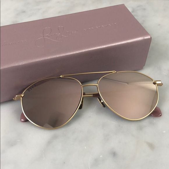 c2619871f6e7a Diff Eyewear Accessories - Laura lee x diff eye wear peachy sunglasses new